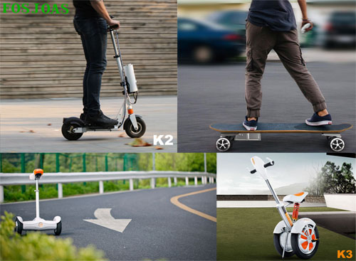 About The Humanity Design of Fosjoas Intelligent Power Scooter