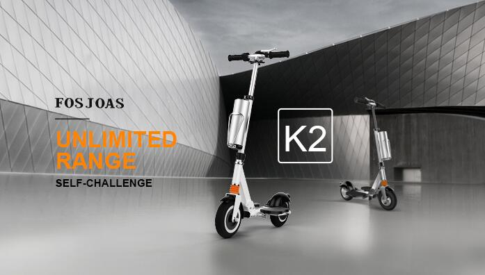 The Feeling of Freedom Is Obtained By Fosjoas K2 Foldable Electric Scooter