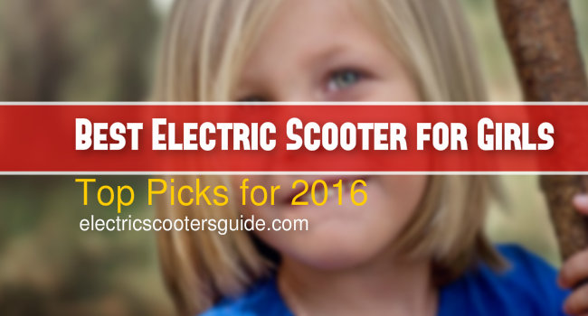 best electric scooter for girls-top picks for 2016
