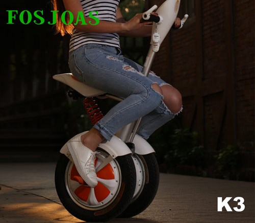 Fosjoas K3 Saddle-Equipped Scooter Is Proud Of Its Comprehensive Safety Systems