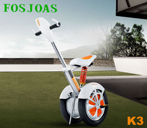Fosjoas K3 Double-Wheels Electric Scooter Shows the Modern Tech and Design