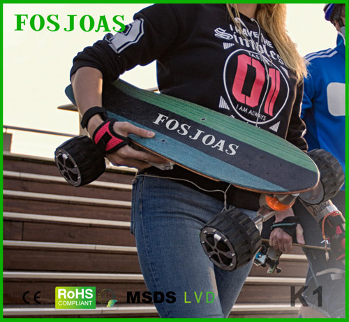 Fosjoas K1 Electric Skateboard Lets People Surfing On Land