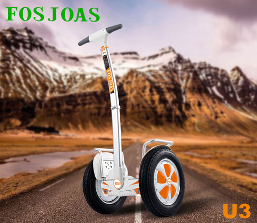 These Features Make Riders Cannot Resist Fosjoas U3 2-Wheeled Electric Scooter