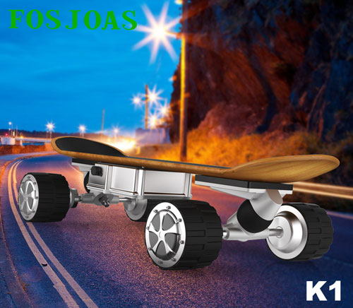 You Can Be A Member of Extreme Sports with Fosjoas K1 Motorized Skateboard
