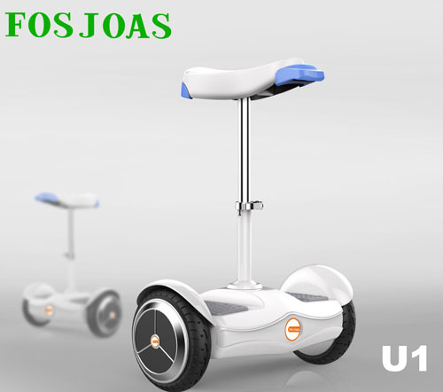 Riding Could Be Romantic with Fosjoas U1 Electric Scooter with Seat